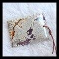 Натуральный Камень Геометрические Chohua Джаспер Ожерелье Подвеска бисер, 33*24*4 мм, 7.6 г полудрагоценный камень кабошон кулон