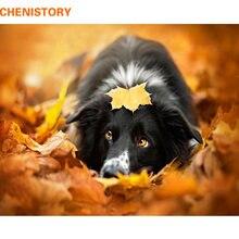 Chenistory Рисование кленовых листьев собаки своими руками от