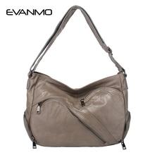 2019 New Special Offer Soft Totes Genuine Leather Women Hobos Shoulder Bag Famous Designer Zipper Handbags Casual Shopping