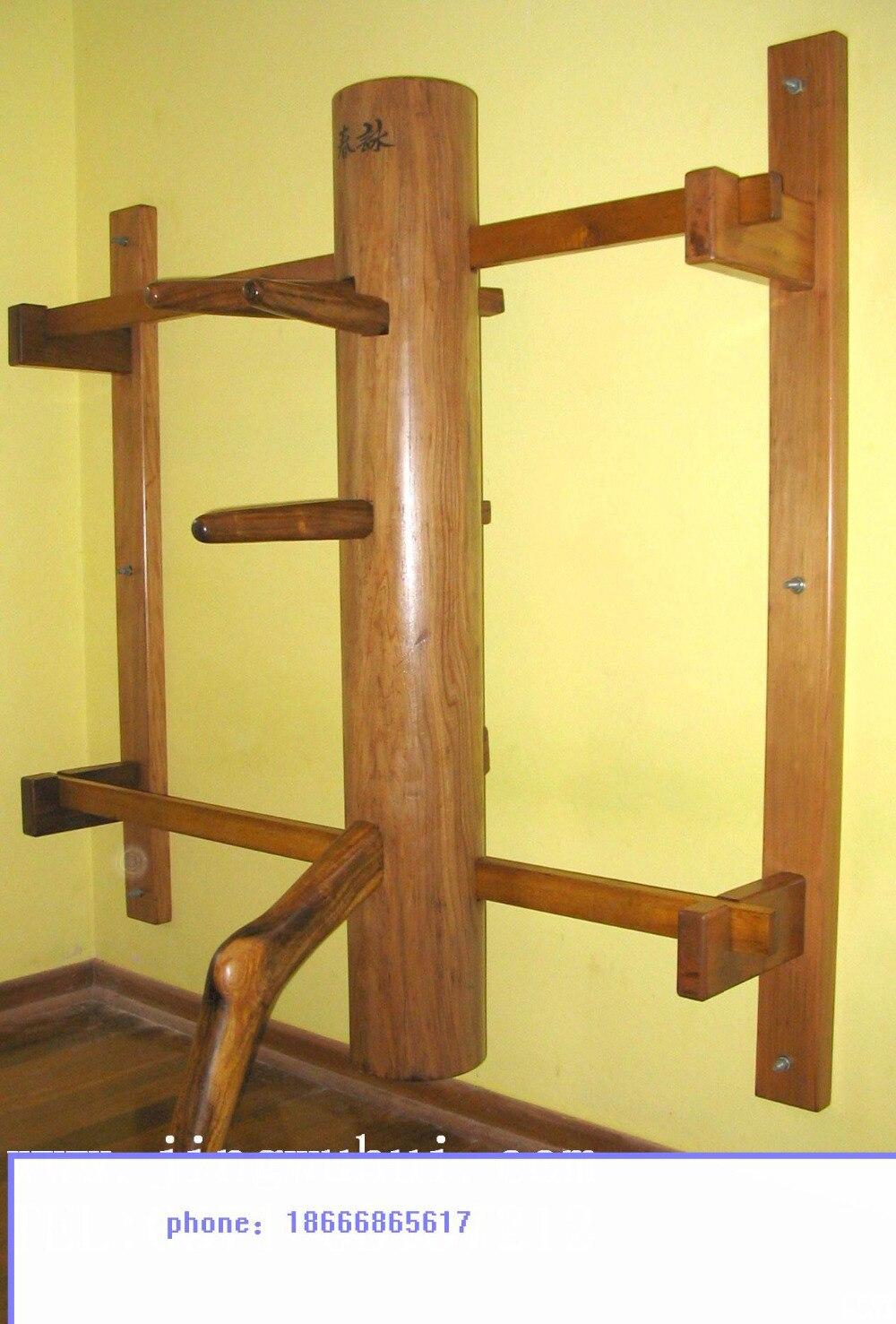 Вин Чун против Моок Джонг, деревянный манекен,мук Ян Джонг из Solild древесины вяза
