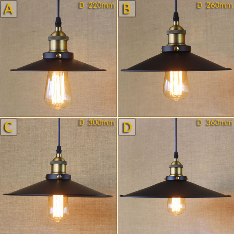 American country RH LOFT simple art industrial Restaurant Bar living room decorative chandelier Pendant Lamp Light Lighting E27 rh led pendant lamp loft restaurant bar