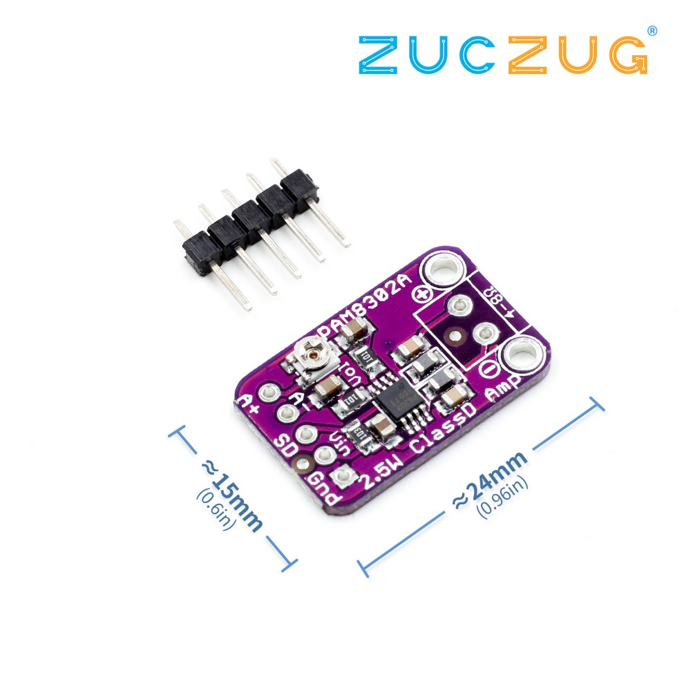CJMCU-832 PAM8302 2.5W Single Channel Class D Audio Power Amplifier Module PAM8302A Development Board