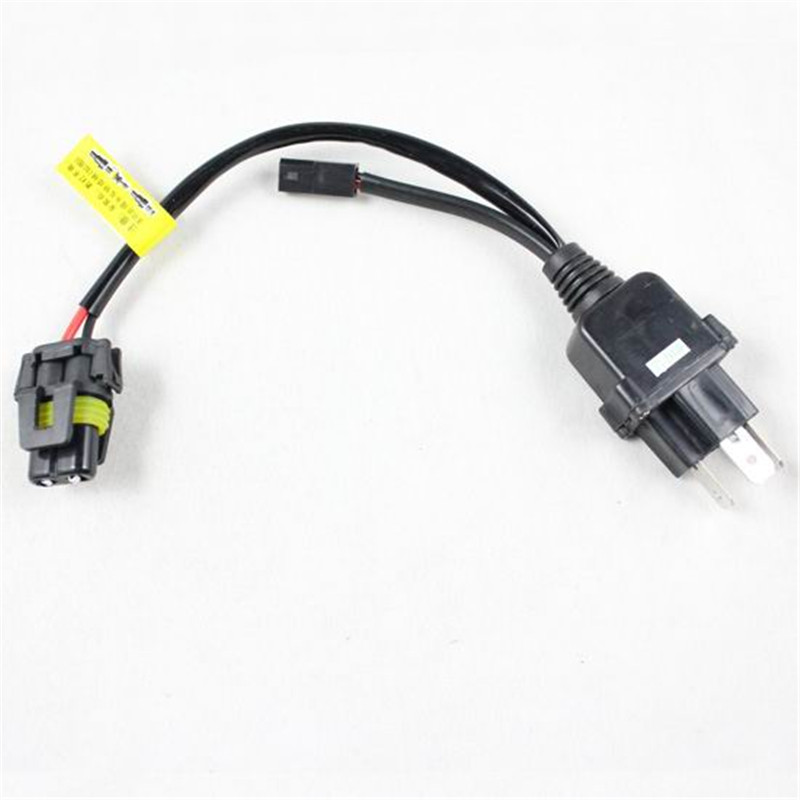 10pcs car styling HID xenon H4 H L controller relay harness cable for HID wiring harness cable for picture more detailed picture about 10pcs car styling Custom Auto Wire Harness H4 at aneh.co