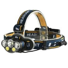 Buy Black HobbyLane 5 LED Glare Outdoor Portable Headlights USB Charging Cable Rechargeable Fishing Headlights with Data Line Hot directly from merchant!