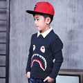 Pioneer Kids 2016 Pull Boy Fashion Sweater Pullover Knitted O-neck Long-sleeve Autumn&winter School Boys Children Sweater