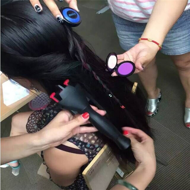 Smart Electric Braid Machine Automatic Fast Hair Curler Styling Knotter