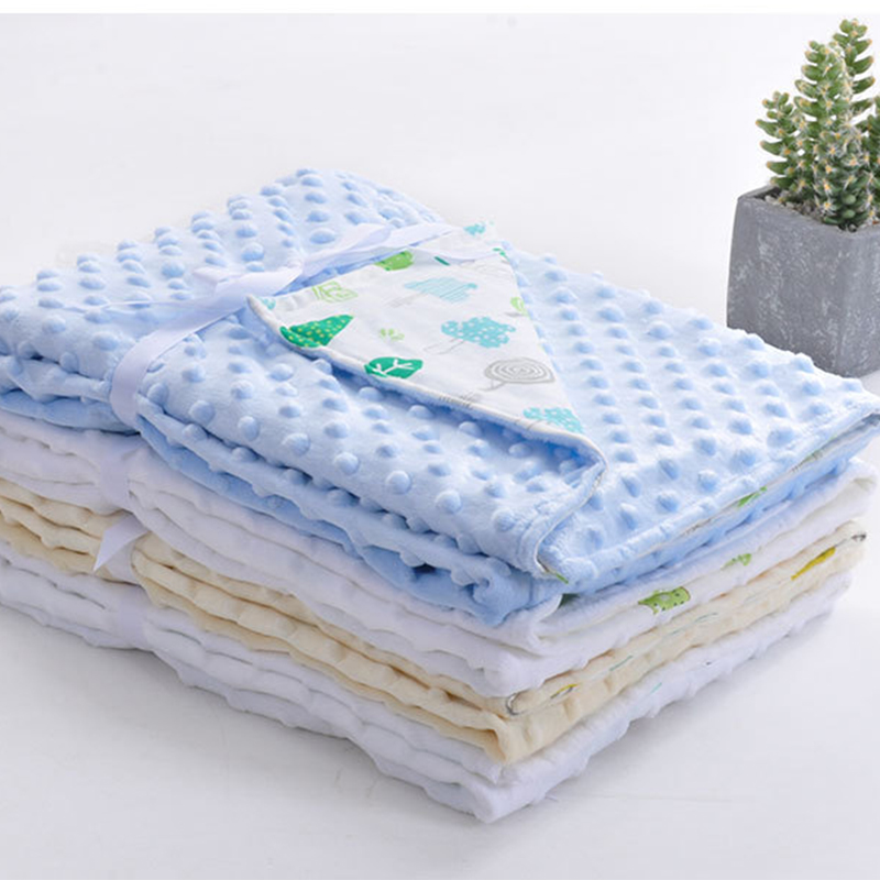 Cotton Baby Blanket Newborn Blanket Infant Baby Swaddle Nap Receiving Stroller Wrap Newborn Baby Bedding Blankets BK013 free shipping infant children cartoon thick coral cashmere blankets baby nap blanket baby quilt size is 110 135 cm t01