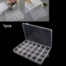 Storage Home Box 22 Grids Fixed with 2 Grid Removable Transparent PP Plastic Hold-all for Component Jewelry Bead Pills Organizer все цены