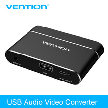 Big sale Vention 3 in 1 USB Audio Adapter USB to HDMI VGA + Audio Video Converter Digital AV Adapter For Phones Tablet For iPhone Samsung
