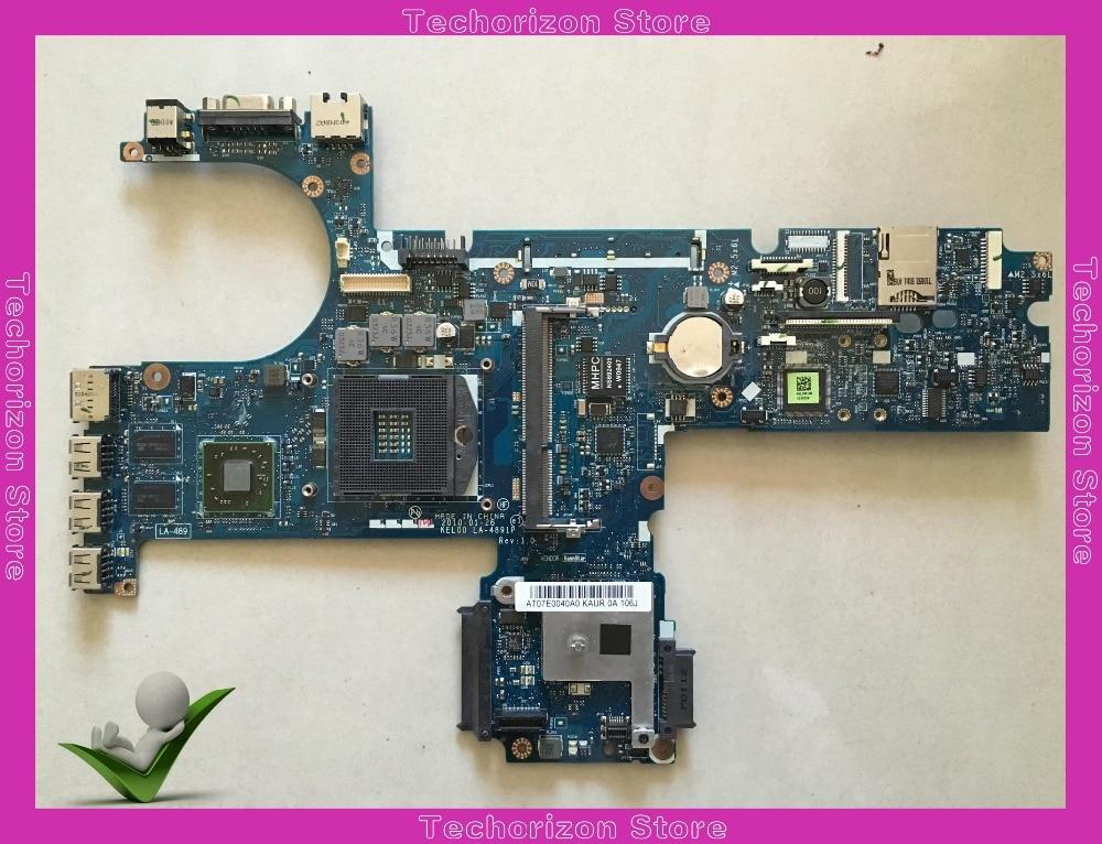 593839 001 LA 4891P for Hp probook 6440B 6540B Laptop Motherboard HM57 works|motherboard motherboard|motherboard for hp|laptop motherboard - title=