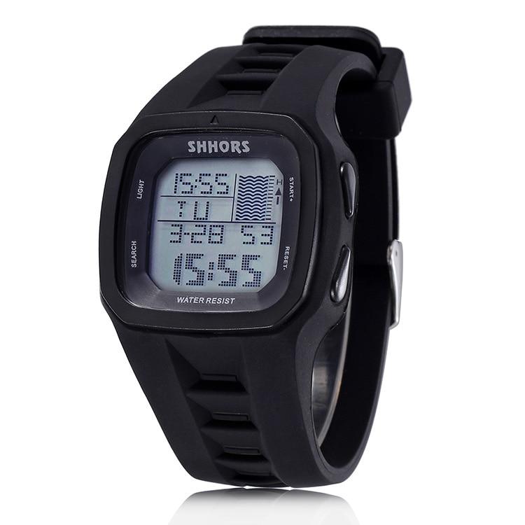 Sports Watches Shhors Digital Waterproof Luxury Silicone Reloj Fashion Led Brand Hombre