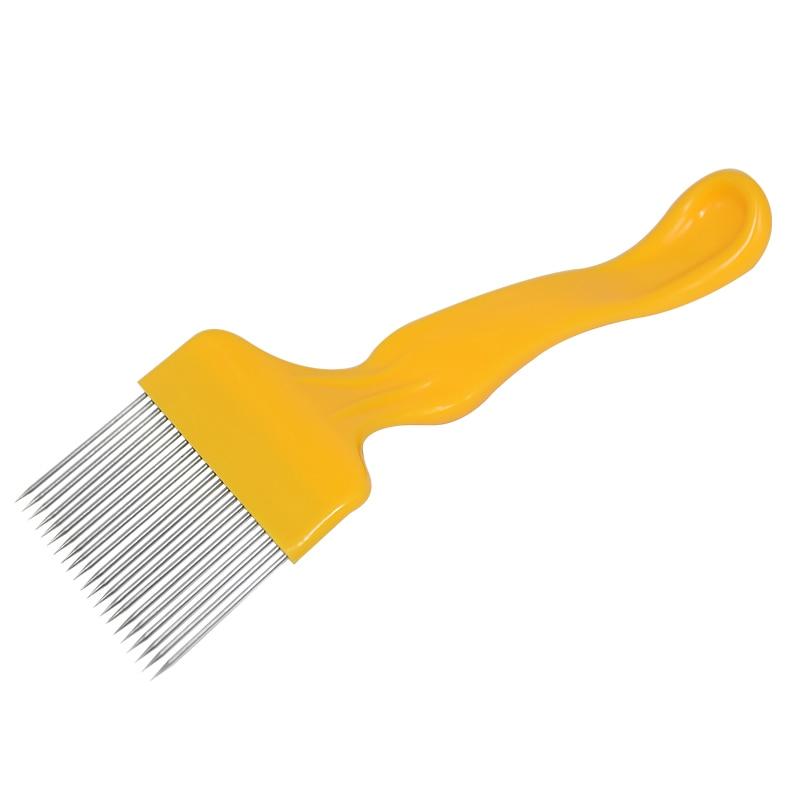 17 Pin Needles Uncapping Fork Bee Honey Sparse Rake Beekeeping Shovel Equipment