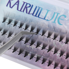 10D 20D Premade Volume Fan False Eyelashes C Curl Knotted/Knot Free Individual Eyelashes Extension Natural Long Semi permanent E