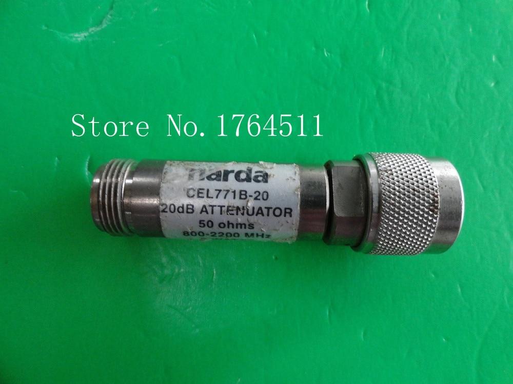 [BELLA] NARDA CEL771B-20 0.8-2.2GHz Att:20dB P:2W N Coaxial Fixed Attenuator
