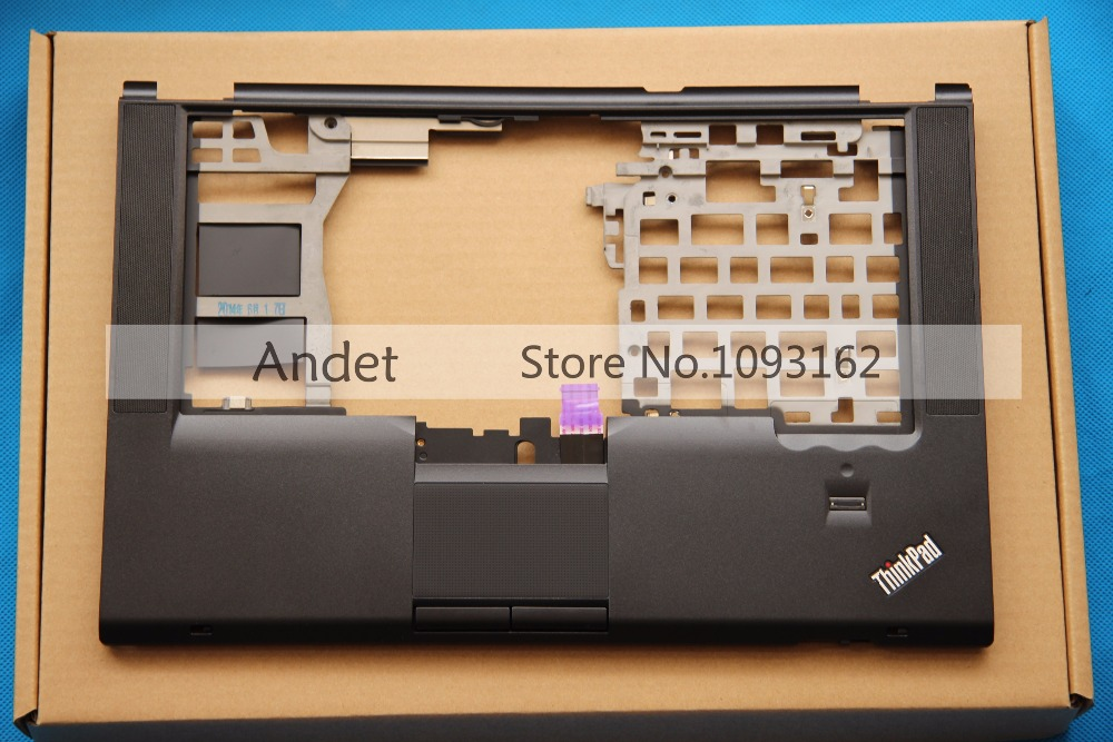 New Oirginal Lenovo ThinkPad T420S T420Si Palmrest Keyboard Bezel Cover Upper Case 04W0607 Touchpad Fingerprint new laptop for lenovo chromebook n22 11 6 english us keyboard palmrest black touchpad cover case
