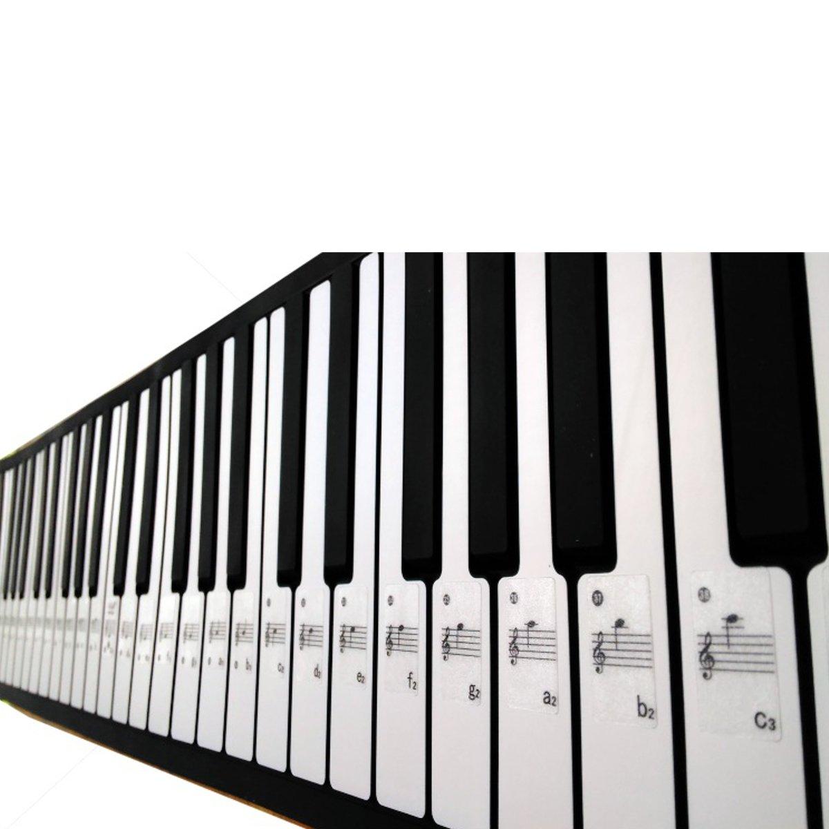 Profesi Piano Stiker Transparan Piano Keyboard Sticker 61 88 Kunci Keyboard Elektronik Piano Mencegah Catatan Stiker Untuk Putih Kunci Piano Aliexpress