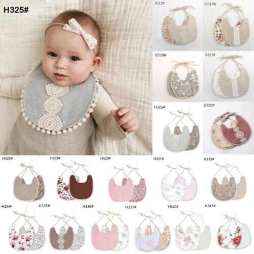 1Pcs Infant Kids Baby Roll Bibs Boy Girl Saliva Towel Dribble Triangle Bandana in Bibs Burp Cloths from Mother Kids