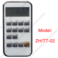 (1 pieces/lot) YORK Split And Portable Air Conditioner Remote Control ZH/TT-02 Air conditioning parts