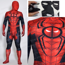 Movie Coser High Quality Custom Made Spider Pool Cosplay Costume Hero Suit Spider Pool Spandex Suit 3D Printing Hero Suit