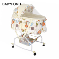 Holycat Multi function Baby Cradle Car Push Cart Cradle.