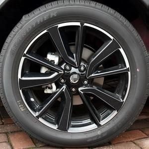 Разноцветные ярко покрытые 19 дюймовые колеса/диски без кольца наклейки для Nissan X-Trail 2017 Z2CA695