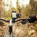 Universal Cellphone Holder For Mountain Bike Bicycle Mobile Phone Mount Bracket ABS Mobile Phone Holder Support