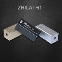 ZHILAI H1 HiFi Mini Computer External Sound Card PCM2704 Digital PC USB DAC Input USB 3.5 High-fidelity Audio Signal Output GOLD