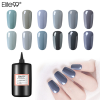 Elite99 Gorgeous 12 Colors 250ml Grey Series Gel Nail Polish Soak Off Lucky Lacquer Long Lasting Art UV Manicure Varnish