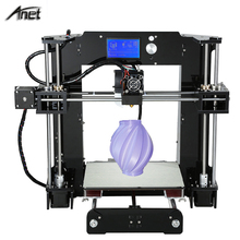 2016 New! Anet A6 Easy Assemble Upgrated Reprap Prusa i3 3D Printer Kit DIY With Free 10M/1Roll PLA/ABS Filament