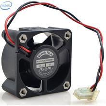 DHL Free Original KDB240420MB DC 24V 0.05A 18.2W 4020 40*40*20mm 4200RPM 2 Wires Computer Blower Double Ball Cooling Fan
