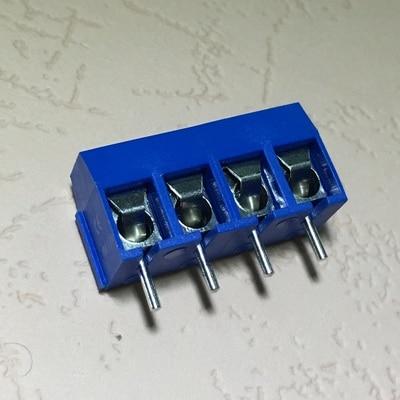 20PCS KF301-4P 5.08mm 4 Pin Cont Terminal Screw Terminal Contor