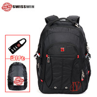 Swiss Laptop Backpack Swisswin Waterproof Business Swiss Traveler Backpack Men Daily Backpack Swiss Back Pack SW8110I