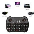 Беспроводная русская клавиатура Zoweetek с подсветкой и тачпадом  игровая клавиатура с мышкой  комбо для смарт-ТВ на Android