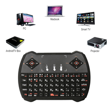 Russian Rii Mini i13 Keyboard 2.4GHz MIC Speaker Wireless Gaming Keyboards With Air Fly Mouse For PC HTPC Smart Android TV Box недорого