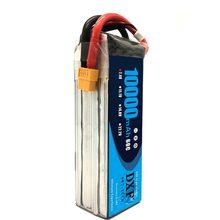 DXF-batería lipo para coche, barco, helicóptero, Quadcopter, 7,4 V, 10000mAh, Lipo 2S, 60C, RC, paquete para 1/8, 1/10