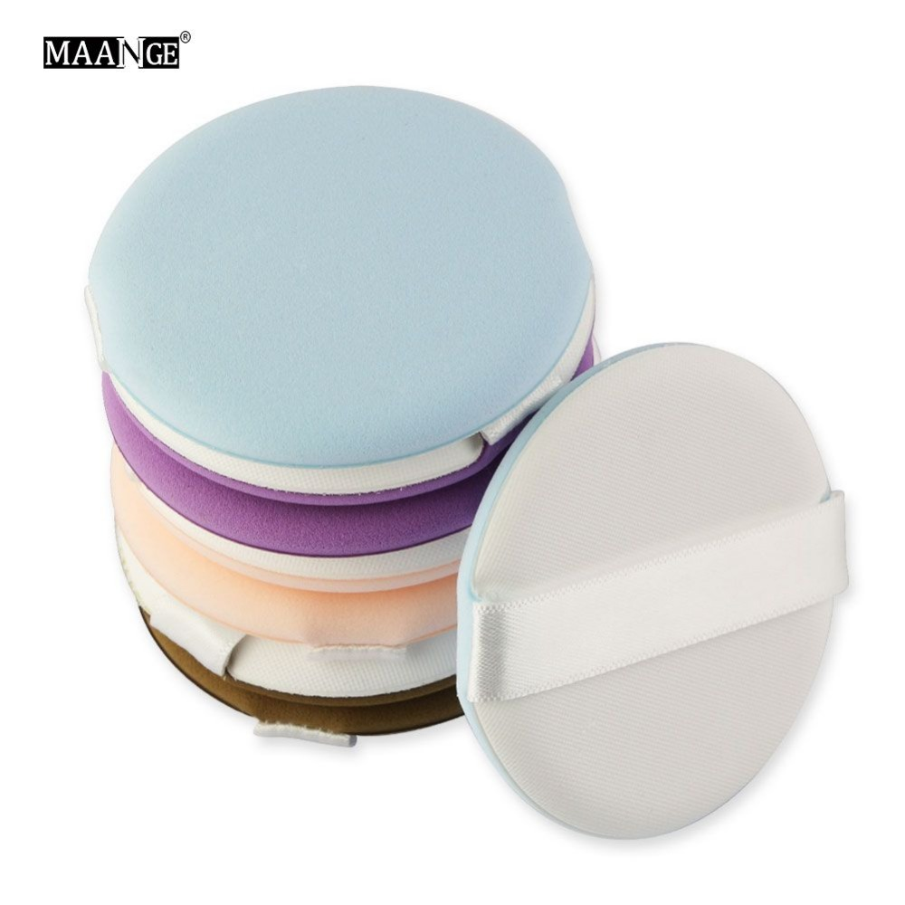 4/8pcs Makeup Air Cushion Soft Sponge Puff Pro Dry Wet Concealer Foundation Smooth Powder Cosmetic Kit Tool #266727-in Cosmetic Puff from Beauty & Health