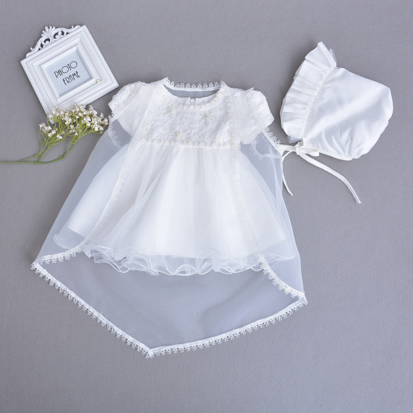 1 Years Birthday Toddler Girl Baptism Dress Christams Costumes Newborn Baby Princess Vestido Kids Gift Christening Wear Dresses