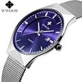 Men Watches Brand Luxury Ultra Thin Date Clock Male Waterproof Quartz Sports Watch Men Steel Strap Wristwatch relogio masculino