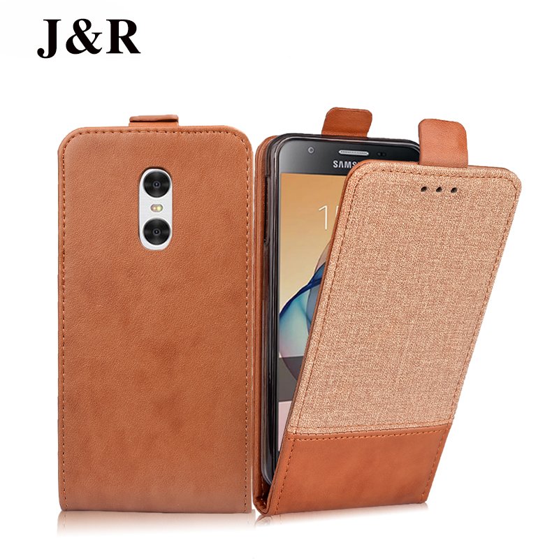 For Xiaomi Redmi Note X Case Original J R Brand Flip Leather