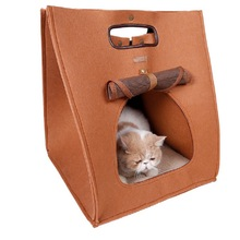 1pc Useful and Hot Three-Usage Multi-functional Pet Dog Cat Bed Bags Outdoor Travel Pet Carrier Handbag