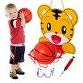 1 Conjunto KAWO Caixa de Prática de Tiro De Basquete Crianças Animal Dos Desenhos Animados de Basquete Stand Capacidade Atlética do Exercício da Criança