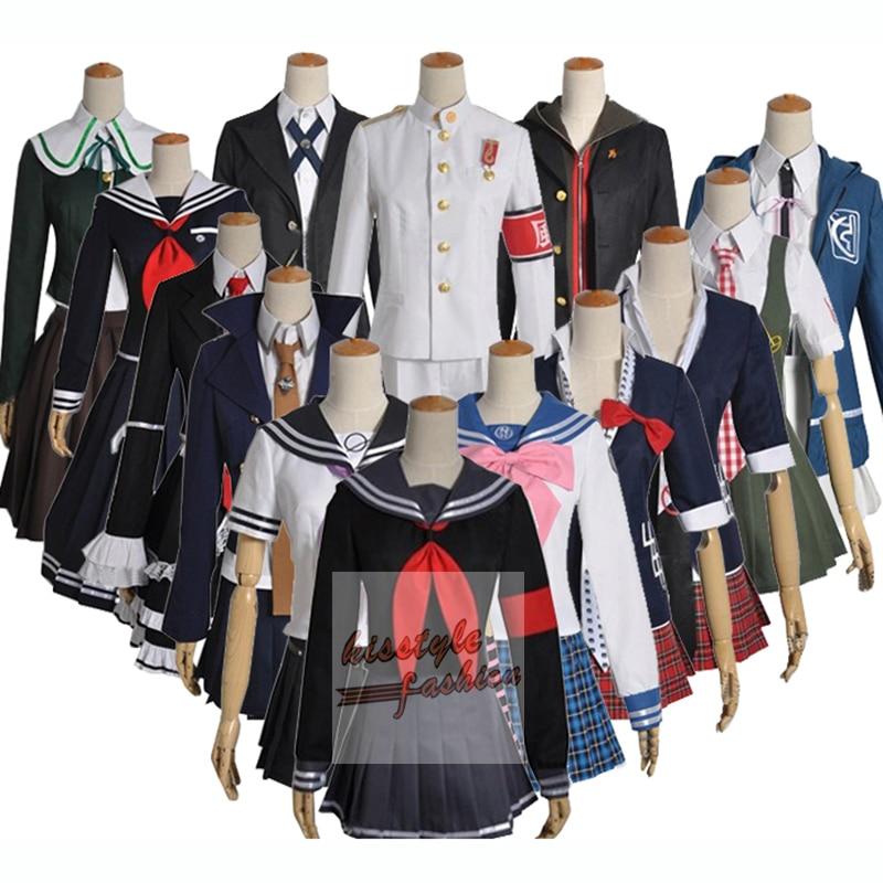 Super Dangan Ronpa DanganRonpa Havoc Toko Peko Havoc Chihiro Havoc Sayaka Characters Cosplay Costume,Customized Accepted