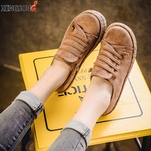 2019 New Spring Women Flats Shoes Loafer