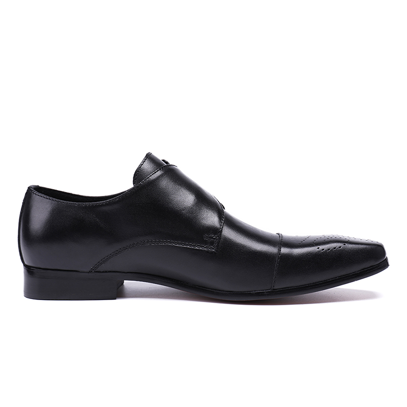 Mabaiwan 2018 Black Fashion Autumn Men Genuine Leather Shoes Mens Formal Business Wedding Dress Shoes Designer Oxfords Creepers
