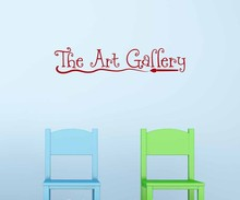 The Art Gallery Silhouette Art Pattern Wall Decal For Living Room Kids  Playroom Bedroom Wall Posters