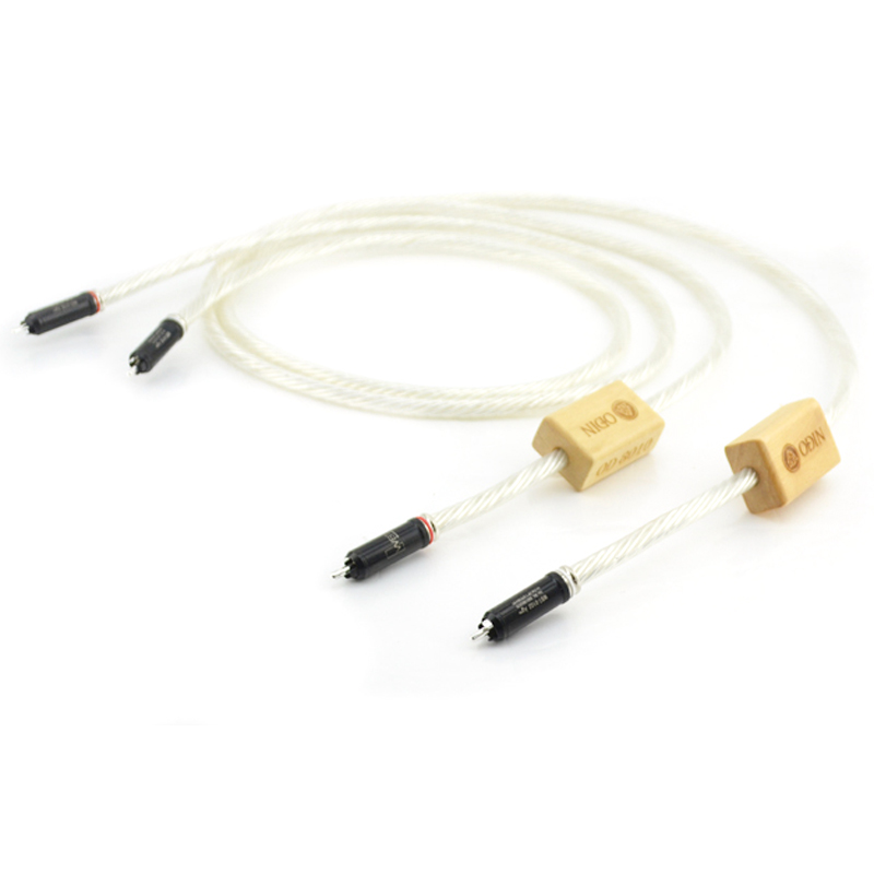 Free shipping pair Nordost Odin RCA Interconnect cable with WBT-0102Ag silver plated plugs connector globo прожектор светодиодный globo projecteur 80w 1300lm 6500k ip65 34115a