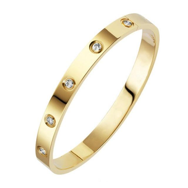 Trendy Round Love Bracelet...