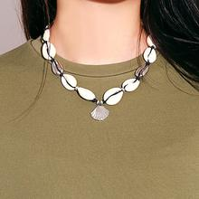 Fashion Shell Necklace New Bohemian Beach Simple Handmade Clavicle Chain Necklaces