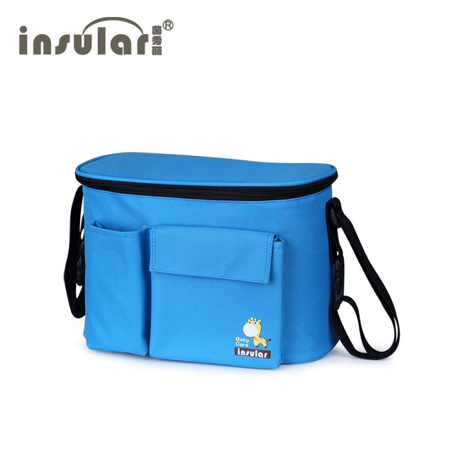 Mummy Shoulder Bag Multifunctional Waterproof Insulation Bags For Baby Stroller Accessories Messenger Baby Diaper Bags