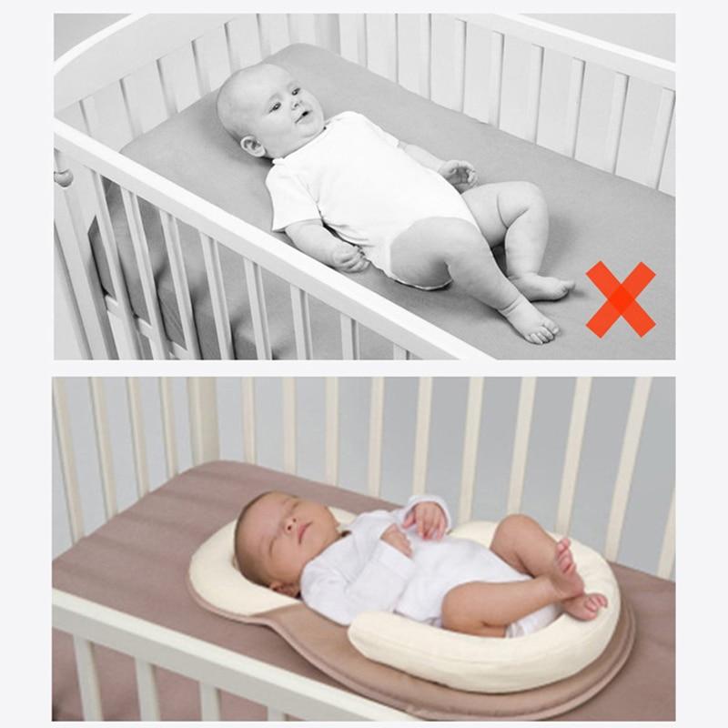 Baby Toddler Sleep Stand Cushion sleep pillow Standup Safe Head Cushion pillow D
